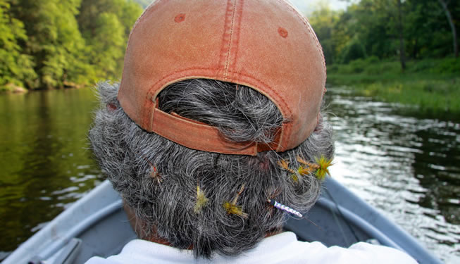 Fly Fishing Video Drake Hair