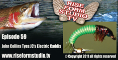 JCS Electric Caddis Larva